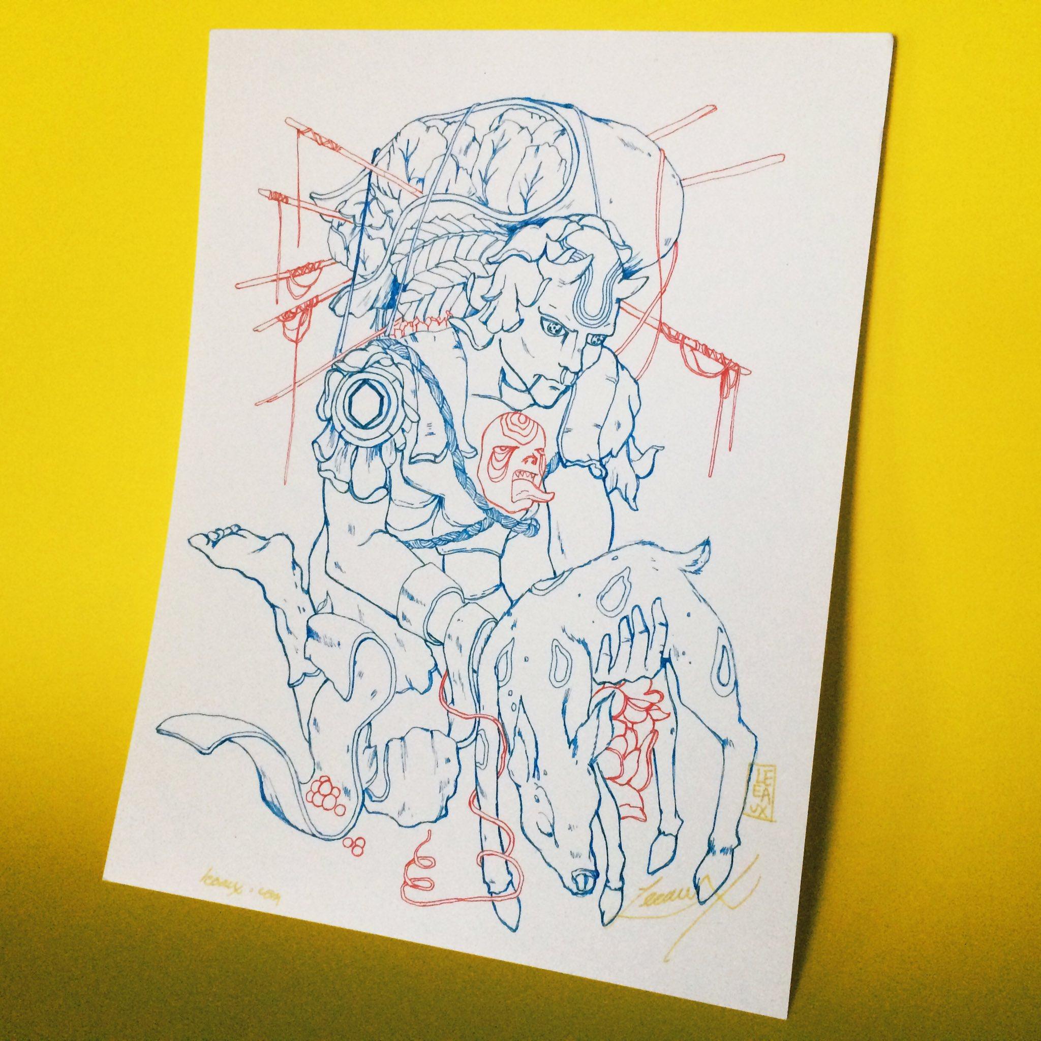 """Prologue"" art by Leeaux"